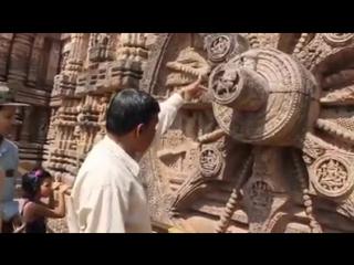 Древние солнечные часы, Индия (англ.)