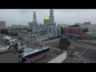 Московская соборная мечеть, Курбан-байрам. 2016