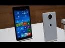 Microsoft Lumia 950 и 950 XL возможности супер Windows смартфонов lumia950