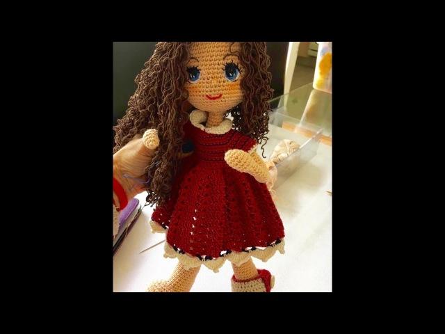 Como tejer cabeza muñeca Carolina amigurumi By Petus QUINTA PARTE 5 8