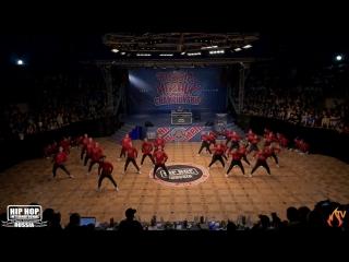 RED HAZE CREW полуфинал HHI RUSSIA 2017