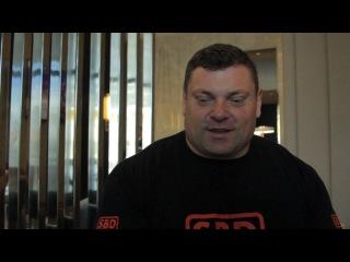 Жидрунас Савицкас - интервью в Минске 2017 - часть 2-ая
