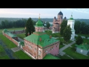 Stock-footage-footage-of-drone-flight-above-the-spaso-borodinsky-monastery-in-shevardino-village-from-the-birds-si 1