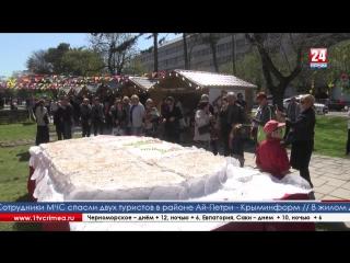 Симферопольцы и гости крымской столицы отмечают светлый праздник Пасхи Праздничная ярмарка развернулась в Екатерининском саду не