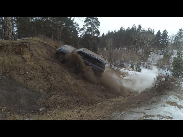 Lexus LX 470 vs УАЗ vs Hilux Surf. в итоге Я ЖЕ СКАЗАЛ ЧТО УАЗИК СОСАЛКИНОЕ ГОВНО. короткий и только