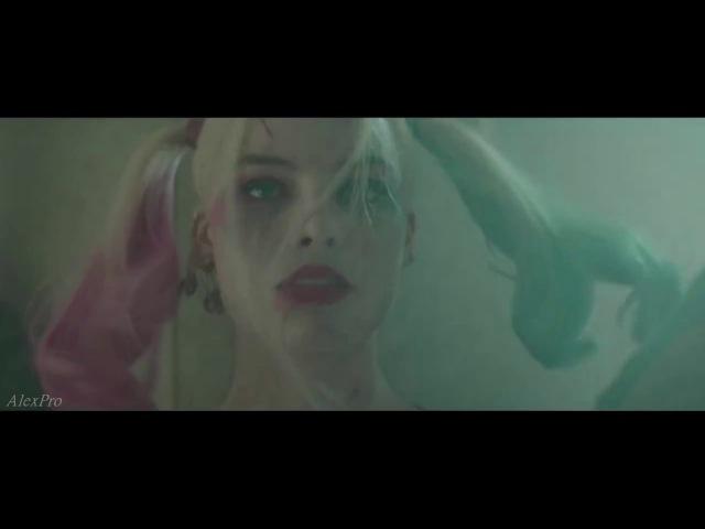 Suicide Squad Harley Quinn and Joker Kiss Me Отряд самоубийц Харли Квинн и Джокер