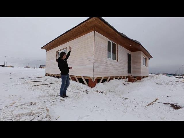 Как строили энергоэффективный каркасный дом 140м2 с утеплением 500мм за 1млн руб