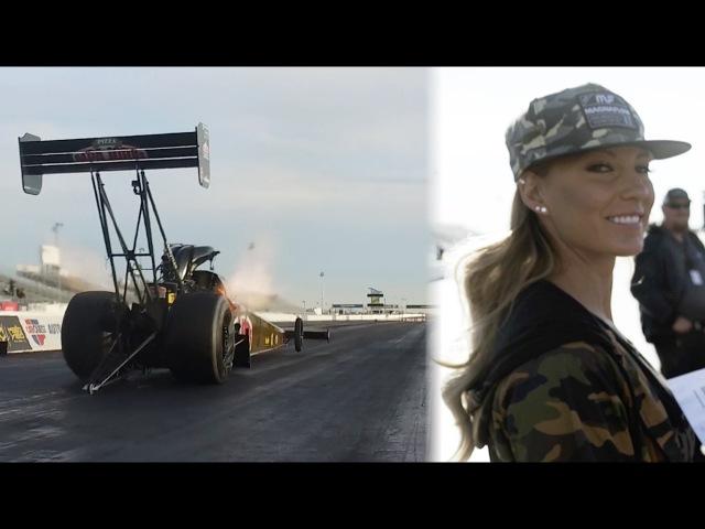 HOONIGAN Leah Pritchett 11 000hp Top Fuel Dragster testing