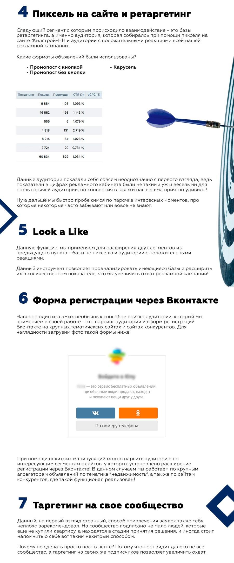 Продвижение крупного регионального застройщика в социальной сети Вконтакте. Часть 2, изображение №6