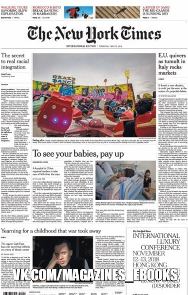 2018-05-31 The New York Times International Edition