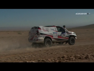 Africa eco race 2018: stage 05 (fort chacal - dakhla)
