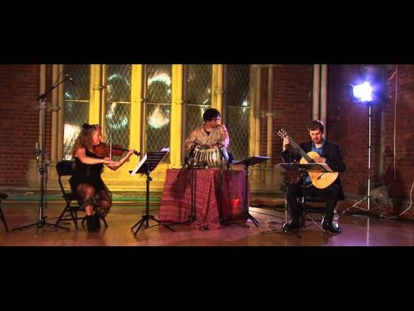 Terry Riley SwarAmant for guitarviolintabla, Simon Thackers Svara-Kanti