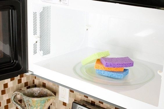 9 лайфхаков с губкой для мытья посуды, изображение №3