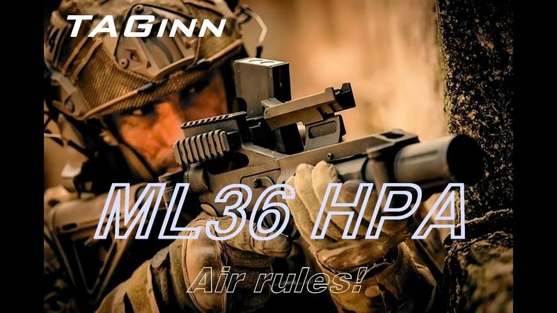 TAGinn ML 36 HPA гранатомет ОТ TAG innovation часть 1
