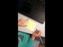 Пишем слова на слух☝️🔤 Цель тренировать навык звукового анализа слова фонематический слух воспроизводить слово на письме