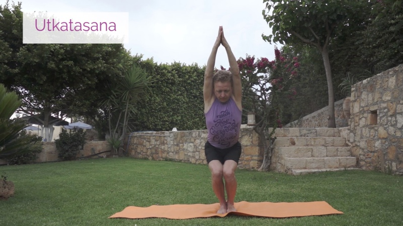Video lessons of Openyoga Utkatasana