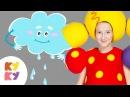 ☔КАП-КАП💧 - КУКУТИКИ - Развивающая детская песня мультик про трактор🚜 звуки🎼 для малышей