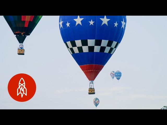Real Life 'Clash of Clans' Meet a Competitive Hot Air Balloonist