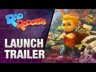 Rad Rodgers: World One -- Launch Trailer
