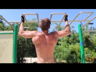 Как накачать спину. Мощная тренировка спины без железа!