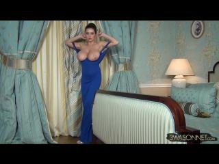 Ewa sonnet cleavage dress ( milf milk wet pussy big tits busty suck blowjob brazzers kink porn anal мамка модель сосет )