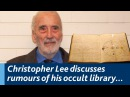 You'll not only lose your mind but you'll lose your soul Christopher Lee on the occult