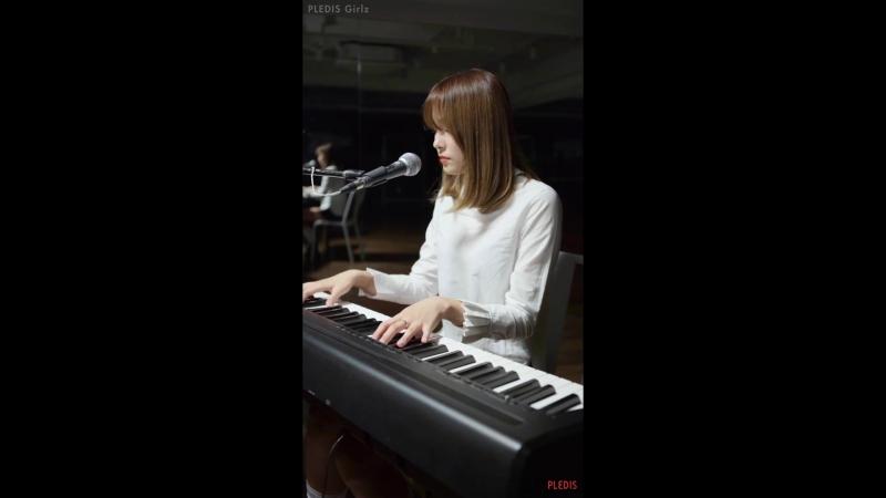 Practice KANG KYUNGWON 경원 PLEDIS Girlz Bye Bye My Blue