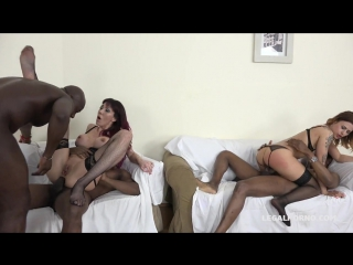 Sofia & Billie Star – those hot sluts love anal sex with big black cocks IV064