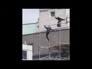 Tom Cruise Injured While Doing Mission Impossible Stunt