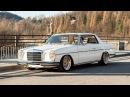Mercedes w114 coupe 1970r engine m104 3.2l r6 Custom classic car