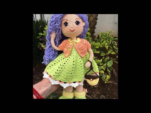 Como bordar ojos amigurumi muñeca Carolina By Petus 8 8