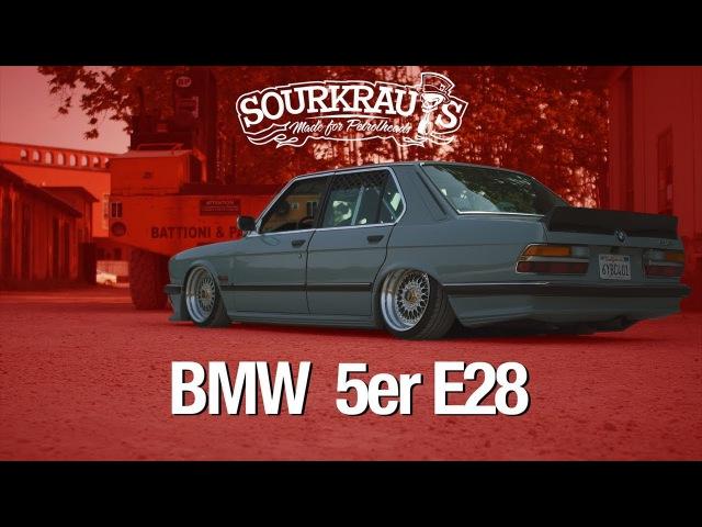 BMW 5er e28 Sourkrauts Short Cut