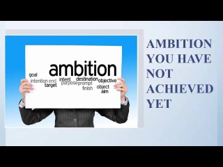 Real Ielts speaking test part 2|Describe an ambition you have not achieved yet