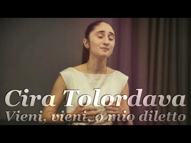 Cira Tolordava sings Vieni vieni o mio diletto by Vivaldi 2015