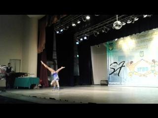 Выступление призера Чемпионата мира Маргариты Дорошенко