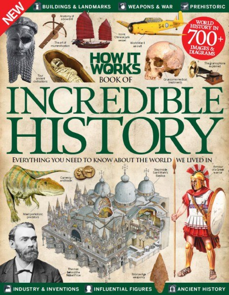 Sanne de Boer - How It Works Book Of Incredible History