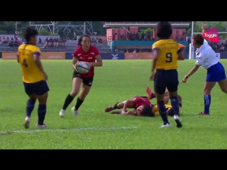 Sea2017_rugby 7s_ womens final (singapore vs thailand)