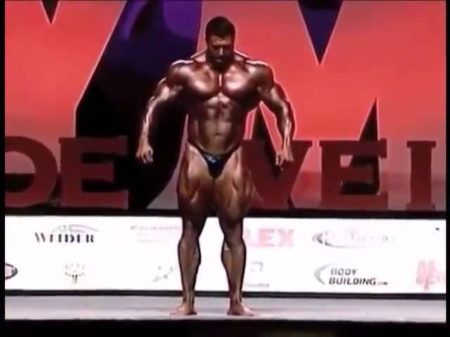 Сергей Шелестов Мистер Олимпия 2008 Mr Olympia Sergey Shelestov