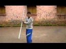 Sushil's LATHI KATHI stick fighting avi