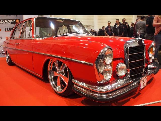 Mercedes-Benz 280S W108 1973 Rot M130.920 140 PS 103 kW Airride Fahrwerk Vista Wheels R18 Tuning