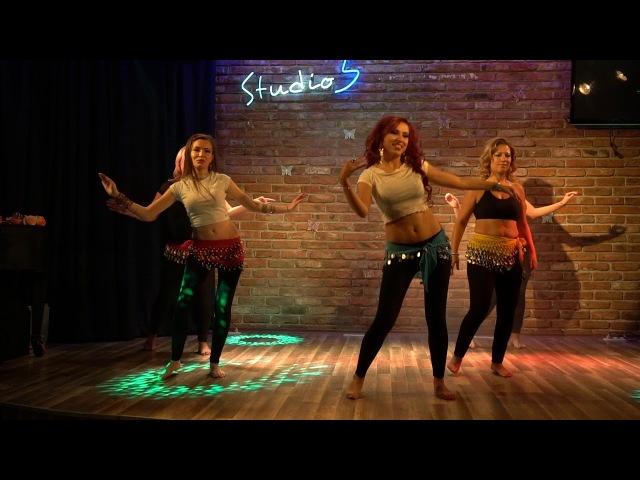 Belly dance group Emira - Hussain Al Jassmi-Boshret Kheir