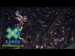 Josh Sheehan wins Moto X Freestyle silver | X Games Minneapolis 2017