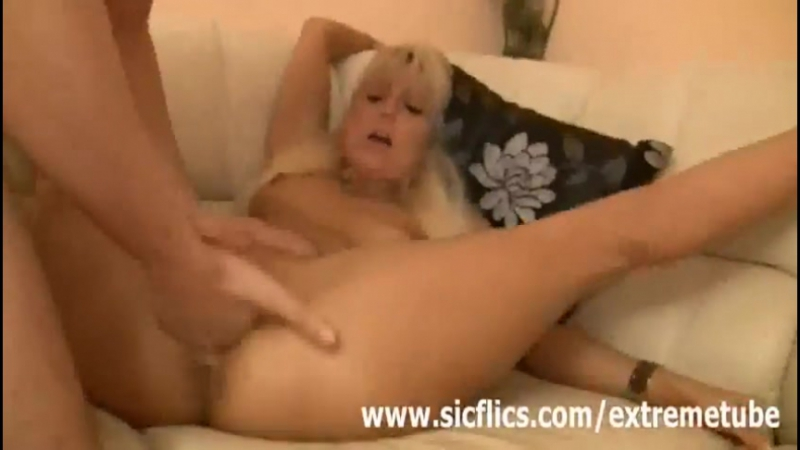 Blonde german slut fisted fucked and abused by two brutes  Amateur and Fisting Videos