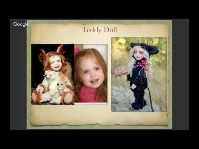 Кукла в стиле Izannah Walker. Презентация Татьяны Броницкой