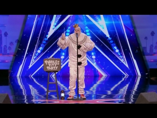 Puddles Pity Party- Sad Clown Stuns Crowd with Sias Chandelier - Americas Got Talent 2017