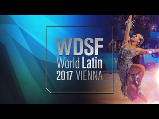 Guillem Pascual - Rosa Carne, ESP | Samba | 2017 World Latin Vienna R1
