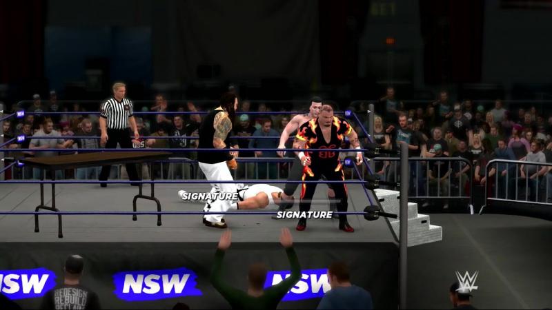 WWE2k17 (PS3) Donskoy vs. Deryabin vs. BBB vs. Wyatt