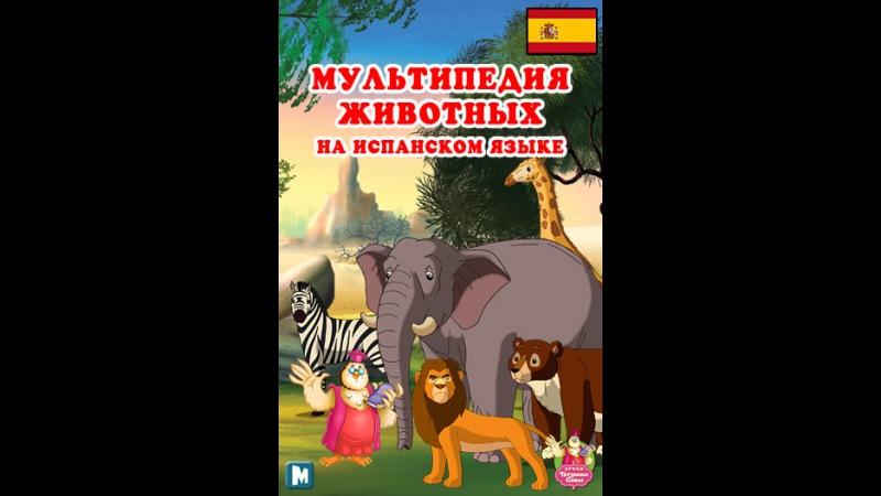 Мультипедия животных на испанском языке Letra R el Rinoceronte