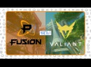 OWL2018 Просмотр OWL Philadelphia Fusion vs Los Angeles Valiant, Часть 1