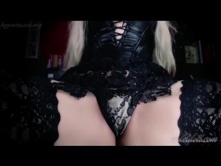VIOLET DOLL PANTY JOI pussy denial humiliation, pov, piss, farting, jei, pissing, toilet, strapon, slut, spittin